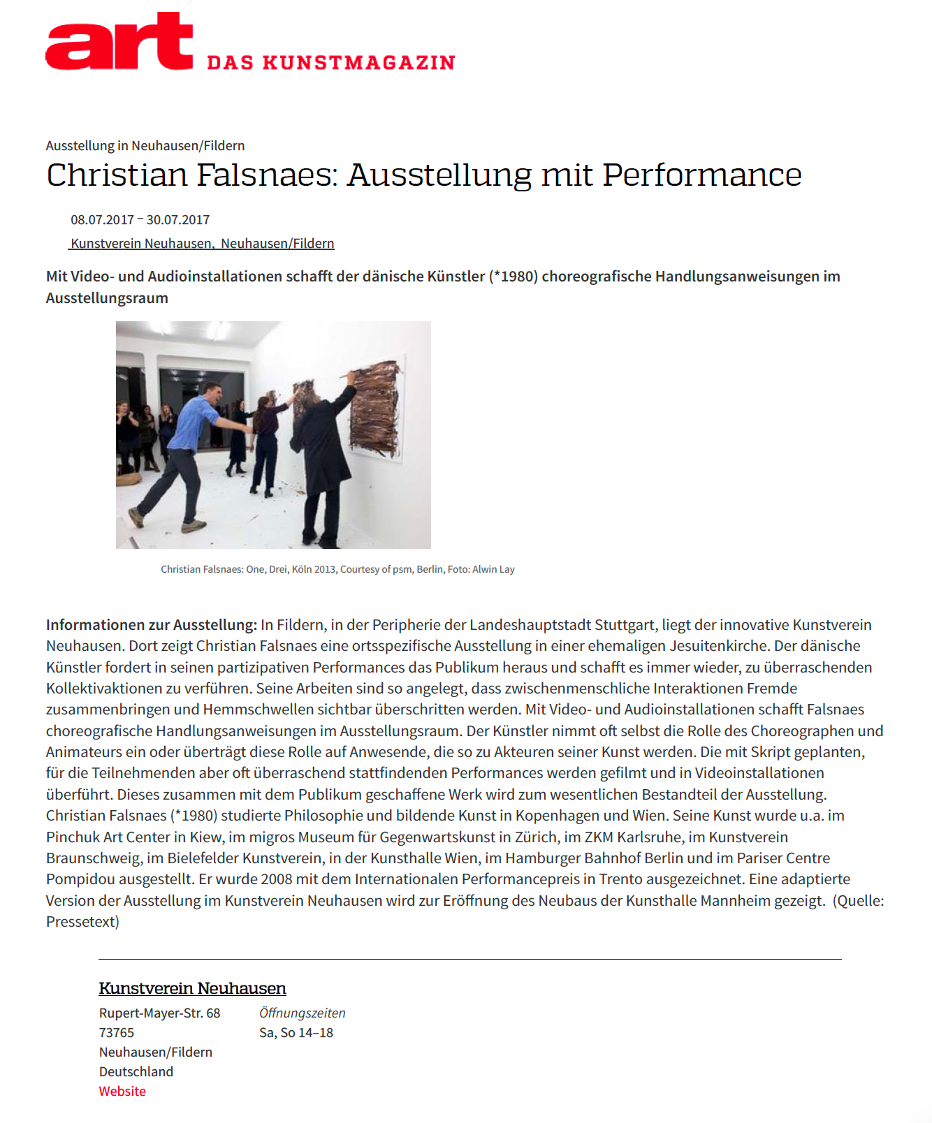 Falsnaes ART Magazin-12.5.17 Kopie