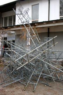 Barrikadenskulptur