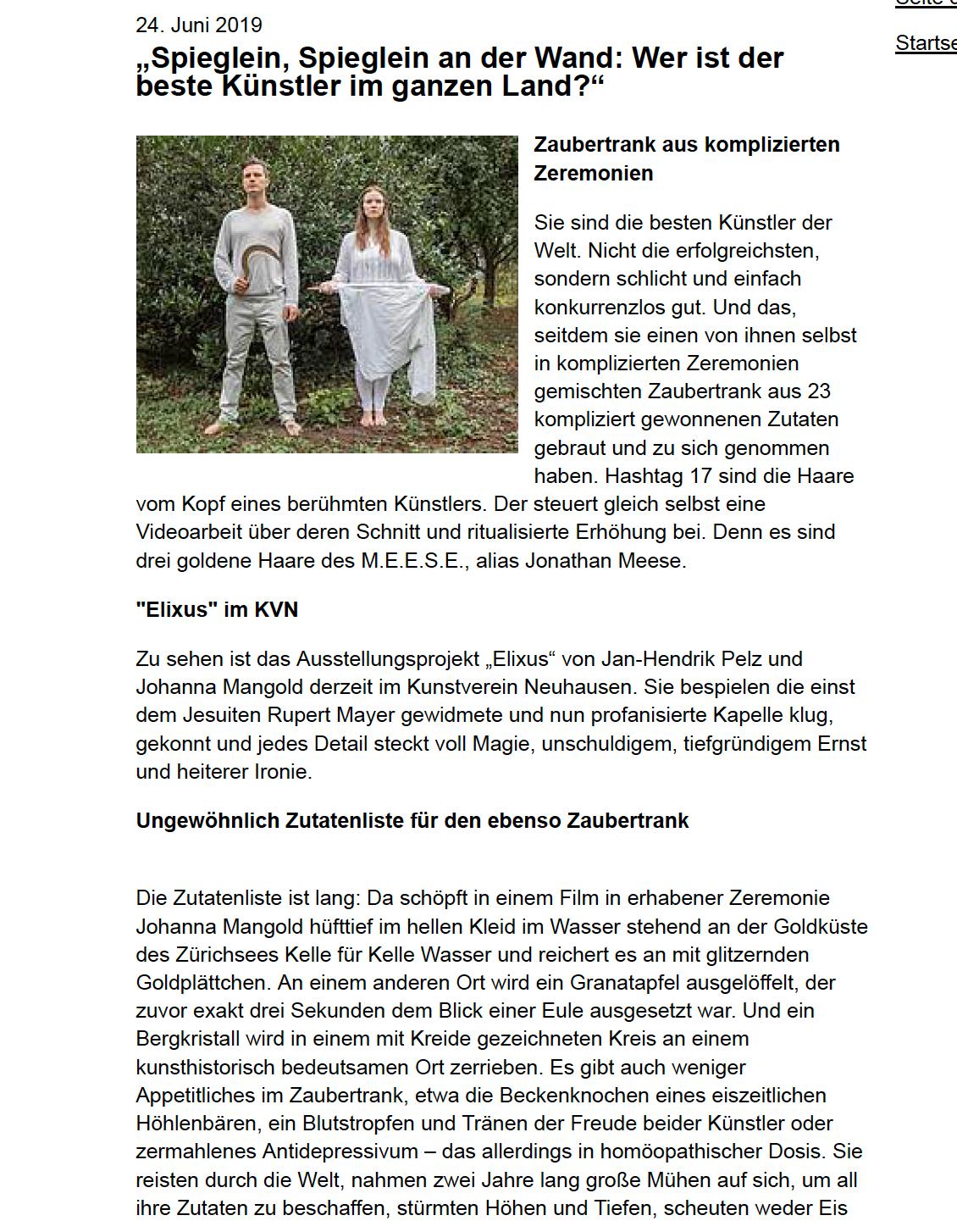 Gemeindeblatt Elke 24.6.19